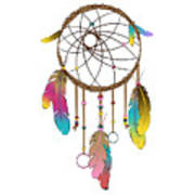 Dreamcatcher Rainbow Art Print