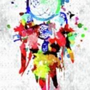 Dreamcatcher Grunge Art Print