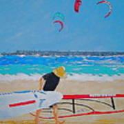 Dreamer Disease V Ponce Inlet  Art Print