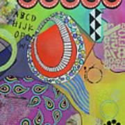 Dreaming In Colour Art Print