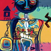 Dreaming Of Africa Art Print