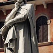 Dreaming Of Dante Verona Italy Art Print