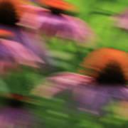Dreaming Of Flowers Art Print by Karol Livote