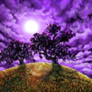 Dreaming Of Oak Trees Art Print