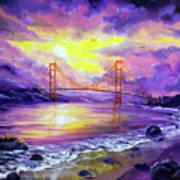 Dreaming Of San Francisco Art Print