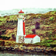Dreaming Of The Georges Island Light In Halifax Art Print