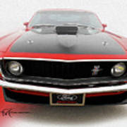Dream_mustang42 Art Print