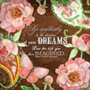 Dreams - Thoreau Art Print
