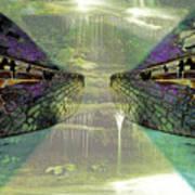 Dreamtime Gondwanaland Art Print