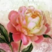Dreamy Rose Art Print