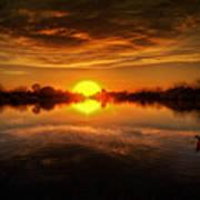 Dreamy Sunset II Art Print