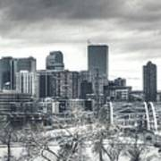 Dreary Denver Art Print