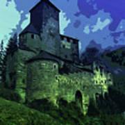 Dreary Fortress Art Print