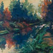 Drente Canal Art Print