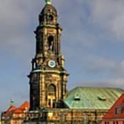 Dresden Kreuzkirche - Church Of The Holy Cross Art Print