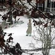 Dressed For Snow Art Print