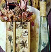 Dried Floral Still Art Print