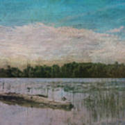 Drifting Downstream Art Print
