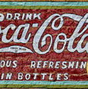 Drink Coca-cola Art Print