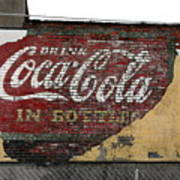 Drink Coca Cola In Bottles 2 Art Print