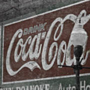 Drink Coca Cola Roanoke Virginia Art Print