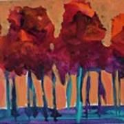 Dripping Tree #1 Art Print