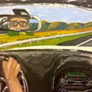 Drive Away Art Print