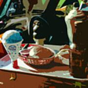 Drive In Art Print