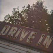 Drive In II Art Print