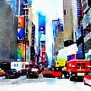 Driving Manhattan Art Print