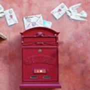 Drop Me A Letter Mr. Postman Art Print