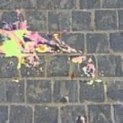 Drop Of Colour Art Print