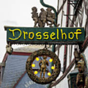 Drosselhof Neon Sign Art Print