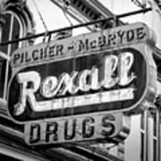 Drug Store #2 Art Print
