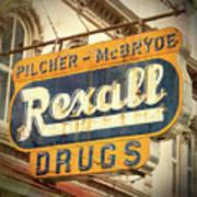 Drug Store #3 Art Print