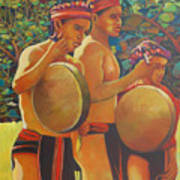 Drumbeat Of The Kalinago Art Print