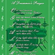 Drummers Prayer_1 Art Print by Joe Greenidge