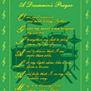 Drummers Prayer_2 Art Print by Joe Greenidge