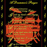 Drummers Prayer_3 Art Print by Joe Greenidge
