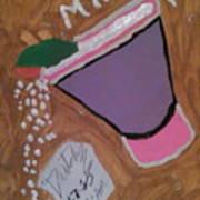 Drunk On Milk. Art Print
