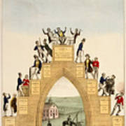 Drunkards Progress, 1846 Art Print
