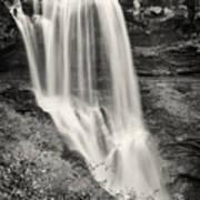 Dry Falls - Blue Ridge Mountains - Number Two Art Print