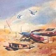 Dry Shore Art Print