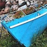 Drydock Boat Art Print