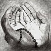 Dua -hands Of Faith No. Six Art Print