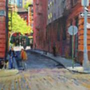 Duane Park From Staple Street Art Print