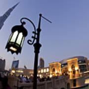 Dubai Burj Khalifa Art Print