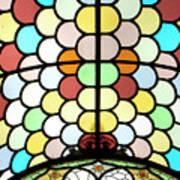 Dublin Art Deco Stained Glass Art Print