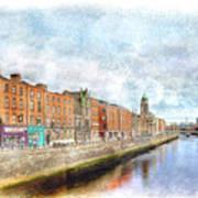 Dublin Watercolour Art Print