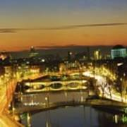Dublin,co Dublin,irelandview Of The Art Print